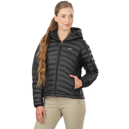 Patagonia Down Sweater Full Zip Hooded Jacket Womens On Sale At