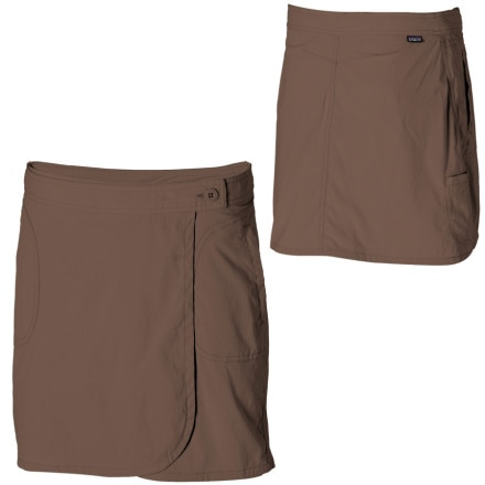 photo: Patagonia Solimar Skirt hiking skirt
