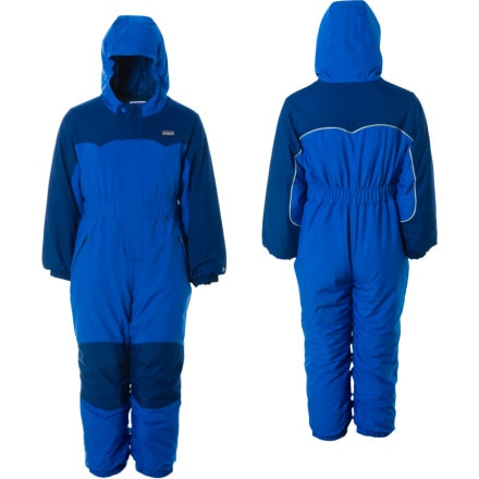 photo: Patagonia Baby Snow Patrol Suit kids' snowsuit/bunting