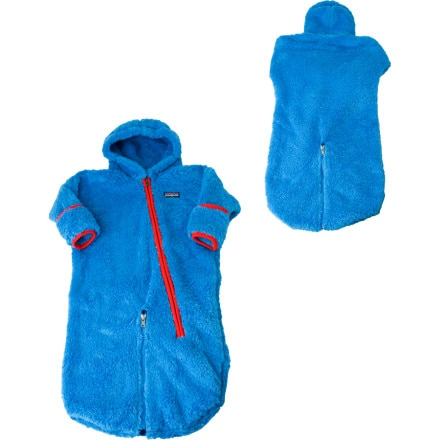 photo: Patagonia Infant Synchilla Hi-Plush Bunting kids' snowsuit/bunting
