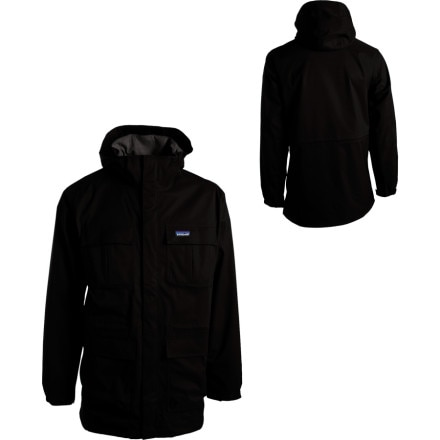 photo: Patagonia Men's Eco Rain Shell Jacket waterproof jacket