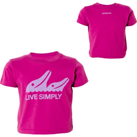 Patagonia Live Simply Dolphins T-Shirt - Short-Sleeve - Infant Girls'