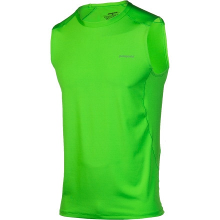 photo: Patagonia Men's Capilene 1 Silkweight Stretch Tank