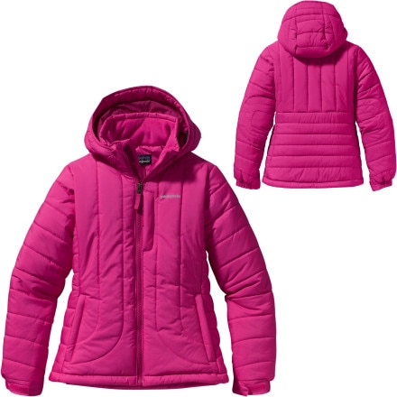 photo: Patagonia Girls' Puff Rider Jacket synthetic insulated jacket