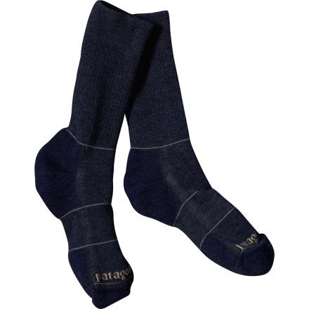 Patagonia Midweight Merino Hiking Crew Sock