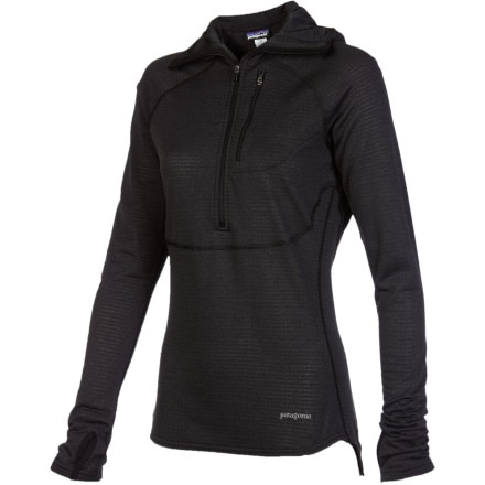 Patagonia Capilene 4 Expedition Weight 1/4-Zip Hooded Top - Women's