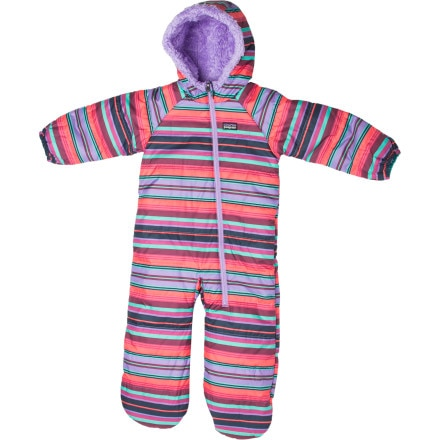 Patagonia Tribbles Reversible Bunting - Infant Girls'