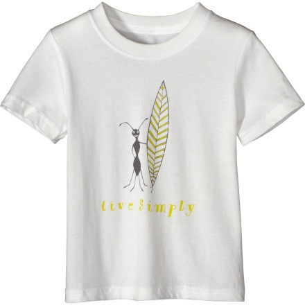 Patagonia Live Simply Surf Ant T-Shirt - Short-Sleeve - Toddler Girls'