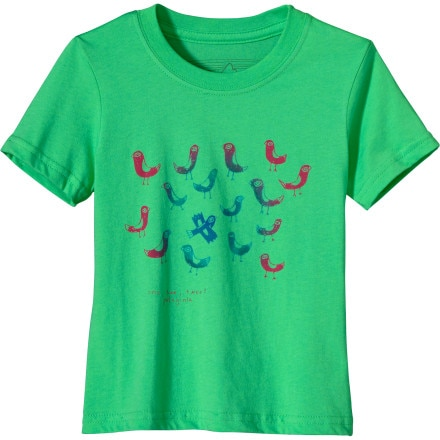 Patagonia One, Two, Tweet T-Shirt - Short-Sleeve - Toddler Girls'