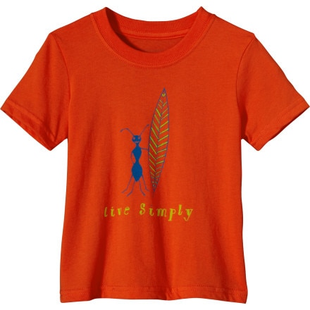 Patagonia Live Simply Surf Ant T-Shirt - Short-Sleeve - Toddler Boys'