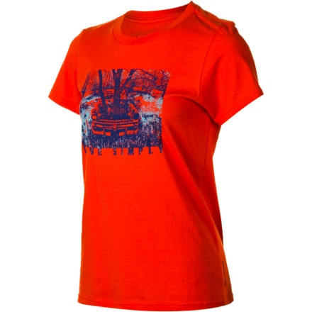 Patagonia Live Simply Heritage Auto T-Shirt - Short-Sleeve - Women's