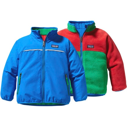 Patagonia Shelled Synchilla Reversible Jacket - Toddler Boys'