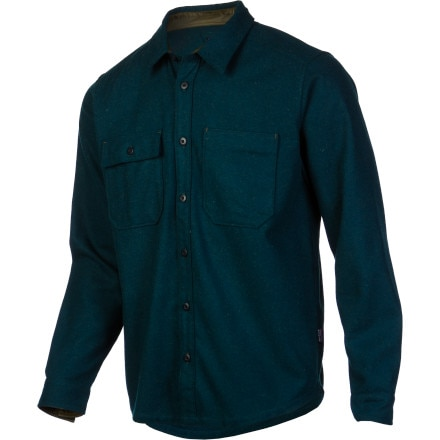 Buy flannel shirts - Patagonia Felted Flannel Shirt - Long-Sleeve - Men\'s Heritage Green, L