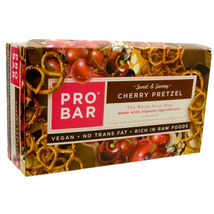 ProBar Cherry Pretzel Sweet and Savory Bar - 12 Pack