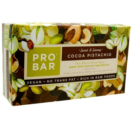 photo: ProBar Cocoa Pistachio Sweet and Savory Bar bar