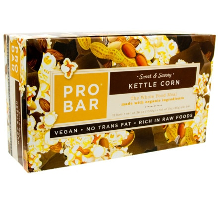 ProBar Kettle Corn Sweet and Savory Bar - 12 Pack