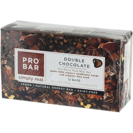 photo: ProBar Double Chocolate Bar bar