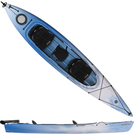 Perception Prodigy II 14.5 Tandem Kayak w/ Rudder - 2014 - Discontinued