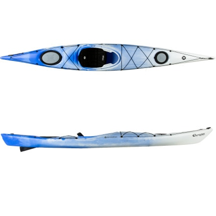 photo: Perception Expression 15.0 Kayak with TruTrak Skeg