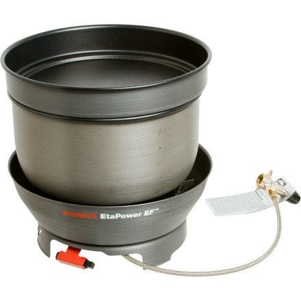 Primus EtaPower EF with 2.1L Pot/Fry Pan Lid and Storage