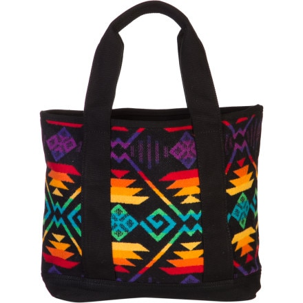 Pendleton Small Canvas & Wool Tote