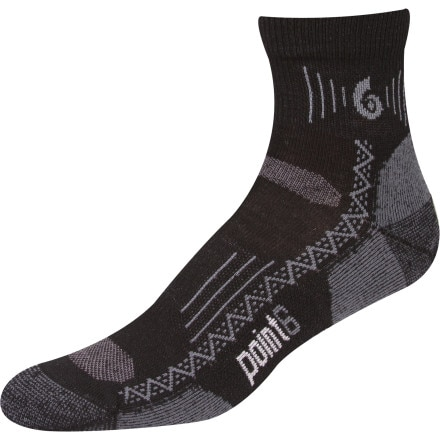 Point6 Hiking Tech Midweight Mini Crew Sock