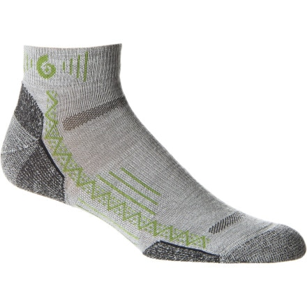 Point6 Hiking Tech Extra Lightweight Mini Crew Sock