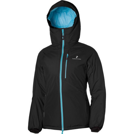 photo: Peak Performance Black Light Regulate Hood synthetic insulated jacket