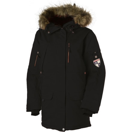 photo: Peak Performance Yukon Insulated Parka synthetic insulated jacket