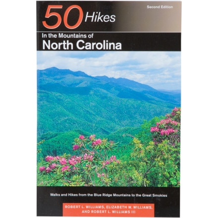 Countryman Press 50 Hikes in the Mountains of North Carolina