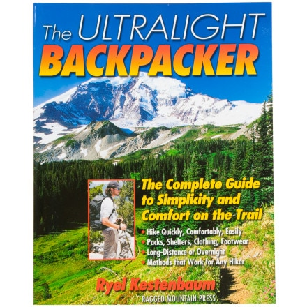 photo: Ragged Mountain Press Ultralight Backpacker camping/hiking/backpacking book