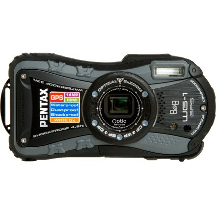 Pentax Optio WG-1 GPS Kit Digital Camera
