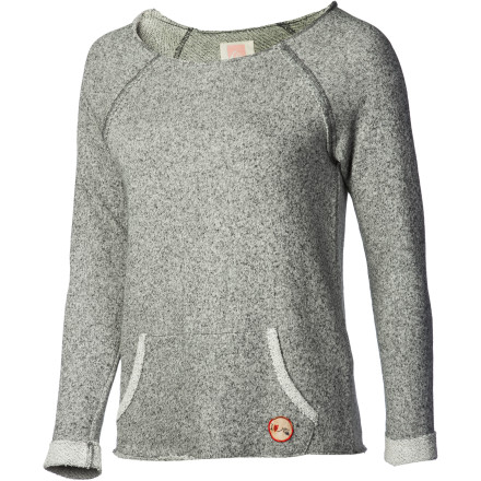 Quiksilver Juniors I Heart QS Crew Sweatshirt - Women's