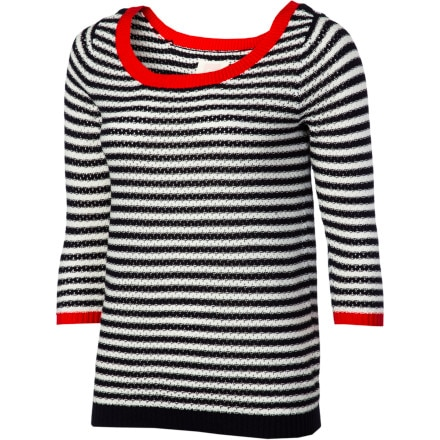 Quiksilver Juniors Nantucket Boatneck Sweater - Women's