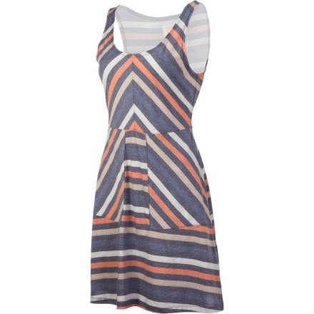 Quiksilver Juniors Dusk To Dawn Stripe Dress - Women's