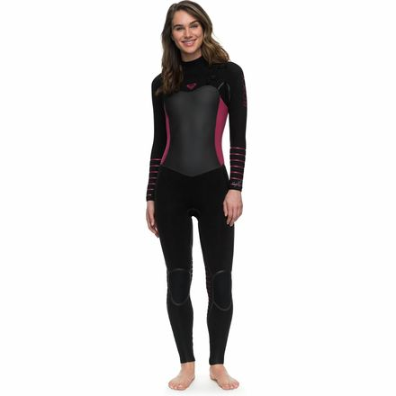 Roxy 3/2 Syncro Plus Chest-Zip LFS Wetsuit - Womens