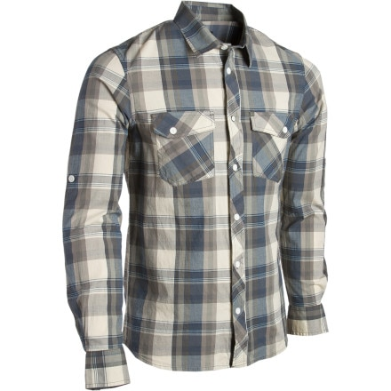 Quiksilver Baseline Shirt - Long-Sleeve - Men's