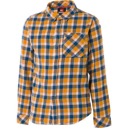 Quiksilver Hooligan Flannel Shirt - Long-Sleeve - Boys'