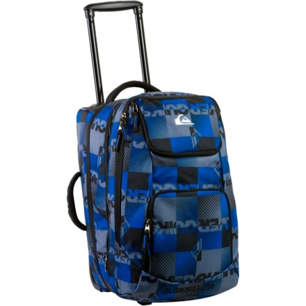 Quiksilver Accomplice Rolling Carry-On Bag - 2964cu in