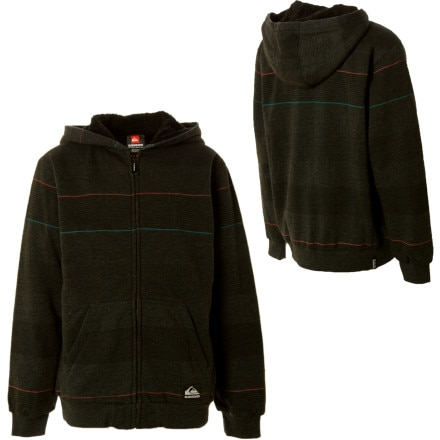 Quiksilver Retreat Full-Zip Hooded Sweatshirt - Boys'