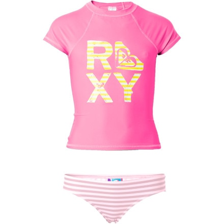 Roxy Sandcastle Stripe Rashguard