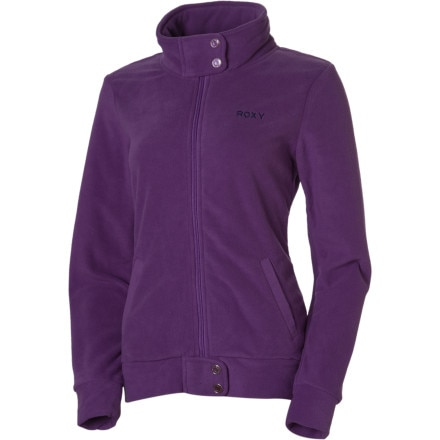 photo: Roxy Short Track Jacket fleece jacket