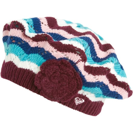 photo: Roxy Snowflake Beanie winter hat