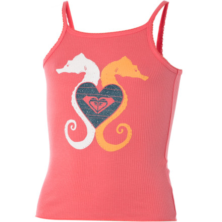 Roxy See Horse Tank Top - Little Girls'