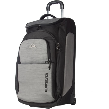 Quiksilver Fast Attack Rolling Gear Bag - 5309cu in