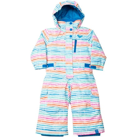 Roxy Cold Spell One-Piece Snow Suit - Little Girls'