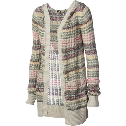 Roxy Elderberry Hooded Cardigan - Women's