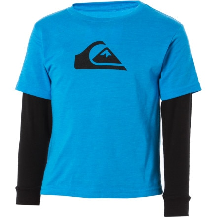 Quiksilver Mountain Wave 2Fer T-Shirt - Long-Sleeve - Little Boys'