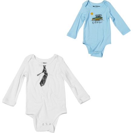 Quiksilver Board Room One-Piece Suit - Long-Sleeve - Infant Boys'
