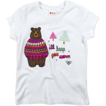 Roxy Cuddle Buddy T-Shirt - Short-Sleeve - Girls'